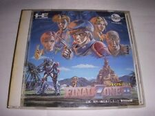 USED Final Zone 2 japan import PC engine