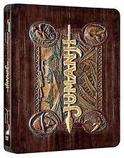 Jumanji (Blu-Ray Disc + DVD - SteelBook) - EDIZIONE ITALIANA - NUOVO - RARO
