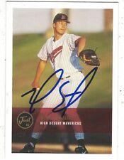 2000 Just Minors Mike Schultz High Desert Mavericks Authentic Autograph COA