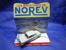 DV6284 NOREV BMW 700 LS BERLINE PLASTIQUE GRIS Ref 60 1/43 TBE