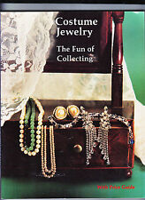 COSTUME JEWELRY-FUN OF COLLECTING-QUALITY SOFTCOVER-1988 GLOSSY COLOR ILLUS VG++
