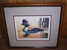 ROBERT STEINER # 4/10 ARTIST PROOF  DUCK STAMP PRINT 1991