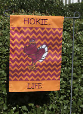 Virginia Tech Hokies Hokie Life Chevron Garden Flag