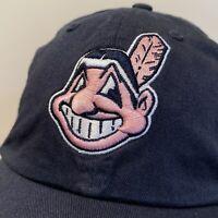Cleveland Indians Baseball Hat Strapback Cap Blue Pink Womens MLB Baseball