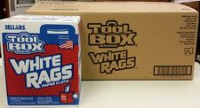 SELLARS WIPERS & SORBENTS 58202 - 6 BOXES - Z400 WHITE - 1200CT - Rag-In-A-Box
