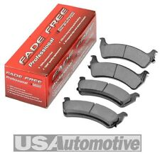 LINCOLN TOWN CAR REAR DISC BRAKE PADS - 1996/2002 97 98 1999 99 2000 2001 01