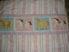 "pink 20"" X 26"" pillow sham horse pony"