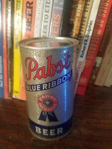 Pabst Blue Ribbon 12oz Flat Top Beer Can IRTP