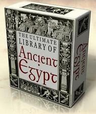 LIBRARY of ANCIENT EGYPT 353 Vintage Books + Hi-Res Images on DVD Egyptology