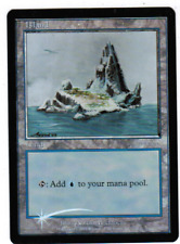 Island x1 *FOIL* MTG Arena Ice Age Art Promo 1x Magic Light Play LP