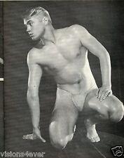 YOUNG ADONIS MAGAZINE* 1963 PHYSIQUE IN POSE * BOB MIZER* ULTRA RARE *FULLSIZE