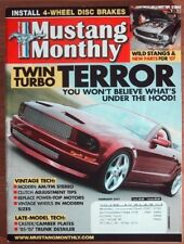 Mustang Monthly 2007 Feb Blue Gt350h 429cj Ram Air Twin Turbo 6