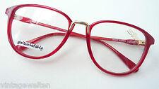 Silhouette  Eyecatcher knallrot Acetatbrille Fassung Vintagegestell frame size M