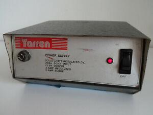 TARREN SOLID STATE REGULATED DC POWER SUPPLY 13.8v 3-5A....RADIO_TRADER_IRELAND.