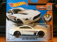 2016 Hot Wheels 2015 FORD MUSTANG GT short euro card