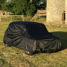 Classic Mini Car Cover In Black. Fitted For Inside Garage Speedwell Mini Cooper