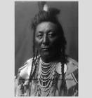 Внешний вид - Chief Plenty Coups 1908 PHOTO Mountain Crow Nation Native American Indian