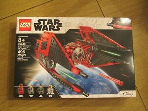 LEGO Major Vonreg's TIE Fighter Star Wars TM (75240) - New Sealed