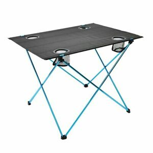Portable Outdoor Table For Camping Picnic Fishing Garden Furnitures Roll-Up Desk