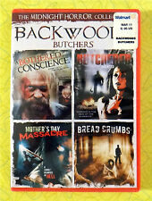 Backwoods Butchers ~ New DVD 4 Movie Collection ~ Rare Midnight Horror Set