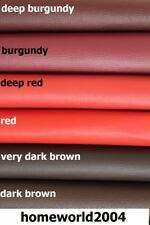 Faux Leather Upholstery Fabric Leatherette 68 COLOURS