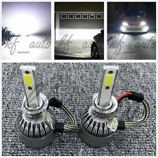 H1 6000K Super Bright White 8000LM CREE LED Headlight Bulb Kit High Low Beam DRL