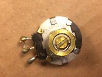 Vintage Clarostat 3.5k ohm Bias Potentiometer Tube Amp Bias Pot 1972