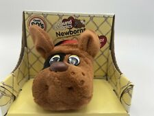 Pound Puppies Newborns Classic 80's Collection Red Brown with Black Spots