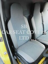 FORD TRANSIT VAN 2010 SEAT COVERS - CHARLTON SUEDE GREY SINGLE + DOUBLE