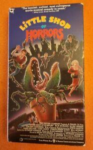 Little Shop of Horrors VHS Warner Brothers Home Video Frank Oz Rick Moranis