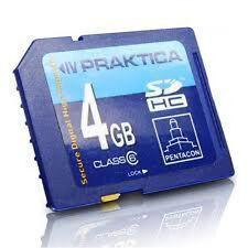 Praktica 4gb Sdhc Memory Card Class 6 - Cameras - Mp3 - Mobiles - Camcorders