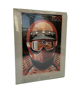 NEW The Picture Gallery Highway Rider 500 Piece Jigsaw Puzzle Motorcycler