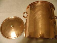 Spring Culinox copper 8 quart stockpot