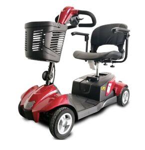 NEW EV Rider CityCruzer Mobility Scooter Red
