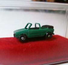 VW GOLF I Cabriolet offen GRÜN OVP IMU 12019 N-Spur 1:160 neuwertig Metall NOS
