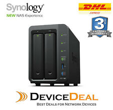 Synology DiskStation DS718+ 2 Bay Diskless NAS 1.5GHz Quad Core CPU 2GB RAM