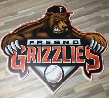 "Fresno Grizzlies HustleHead Fat Heads - ONE OF A KIND! - 23""w x 20""h  Free S/H!"
