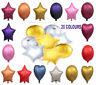 "18"" Star Heart Round Foil Balloons Baloon Helium Ballon Party Birthday Wedding U"