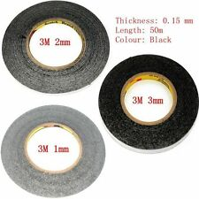 Lots of Black 3M Sticker Double Sided Tape Adhesive for cell phone 1mm+2mm+3mm