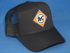 Allis Chalmers Hat - Black Mesh - High Crown - Diamond AC Logo