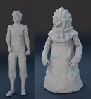 Lost In Space Alien Series J5 and Alien Blob 2 Piece Set 1:24 1/24 - 3D Printed