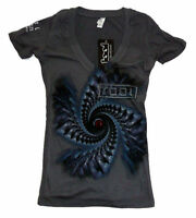 TOOL T-Shirt  Band Spiral Womens V-Neck Brand New Authentic S M L XL