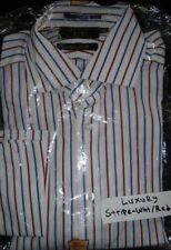 Camicie classiche da uomo regolare multicolore in cotone