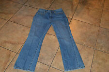 Ralph Lauren Lauren Jeans Co. Size 8 Jeans Straight Leg Medium Wash Embellished