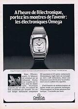 PUBLICITE ADVERTISING 215 1974 OMEGA montres