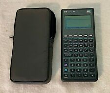 Hewlett Packard HP - 48G Graphing Calculator With Case! WORKS GREAT! RARE!