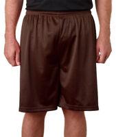 Badger Sportswear Men's Athletic Polyester Elastic Waistband Tricot Short. 7207