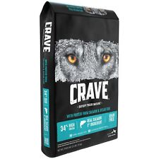 Crave Grain Free With Protein From Salmon And Ocean Fish Dry Adult Dog Food,22Ib