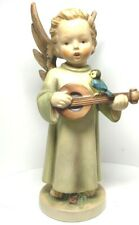 1961 Goebel Hummel 8� Mandolin Angel Figurine 172/0 Tmk-4, Germany
