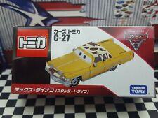 TOMICA C-27 CARS DISNEY PIXAR TEX DINOCO (STANDARD TYPE) NEW IN BOX